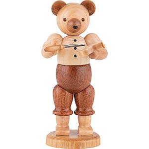 Kleine Figuren & Miniaturen Tiere Bären Bär Schnitzer - 10 cm