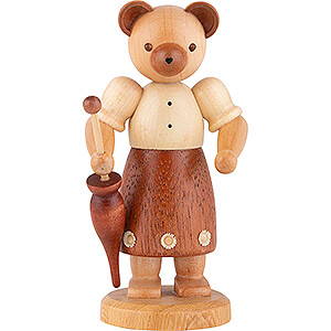Kleine Figuren & Miniaturen Tiere Bären Bärenfrau - 10 cm