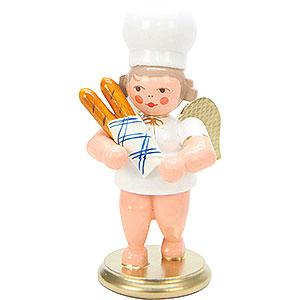 Weihnachtsengel Bäckerengel (Ulbricht) Bäckerengel mit Baguette - 7,5 cm