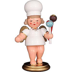 Weihnachtsengel Bäckerengel (Ulbricht) Bäckerengel mit Cake-Pops - 7,5 cm
