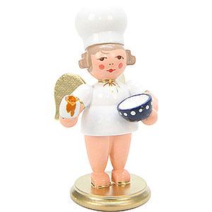 Weihnachtsengel Bäckerengel (Ulbricht) Bäckerengel mit Ei - 7,5 cm