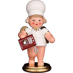 Weihnachtsengel Bäckerengel (Ulbricht) Bäckerengel mit Rührgerät - 7,5 cm