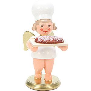 Weihnachtsengel Bäckerengel (Ulbricht) Bäckerengel mit Stollen - 7,5 cm