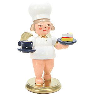 Weihnachtsengel Bäckerengel (Ulbricht) Bäckerengel mit Tasse - 7,5 cm