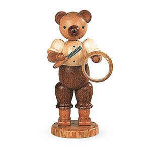 Kleine Figuren & Miniaturen Tiere Bären Bär Drechsler - 10 cm