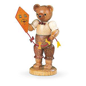 Kleine Figuren & Miniaturen Tiere Bären Bär mit Drachen - 10 cm