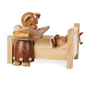 Kleine Figuren & Miniaturen Tiere Bären Bärenmutter erzählt Gute Nacht Geschichten - 8 cm