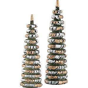 Kleine Figuren & Miniaturen Flade Flachshaarkinder Bäumchen zum Weihnachtsmarkt - 7 cm