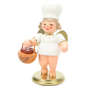 Angels Baker Angels (Ulbricht) Baker Angel with Basket - 7,5 cm / 3 inch