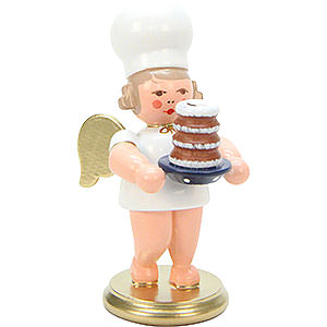 Angels Baker Angels (Ulbricht) Baker Angel with Cake - 7,5 cm / 3 inch