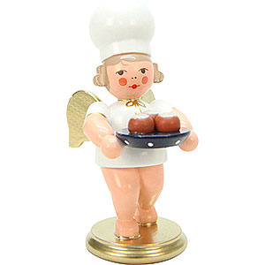 Angels Baker Angels (Ulbricht) Baker Angel with Pan Cake - 7,5 cm / 3 inch