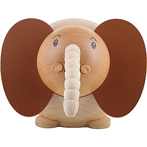 Small Figures & Ornaments Animals Elephants Ball Figure Elephant - 6 cm / 2.3 inch