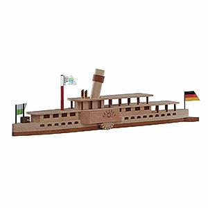 Kleine Figuren & Miniaturen alles Andere Bastelset Elbdampfschiff 'Dresden' - 24x7 cm