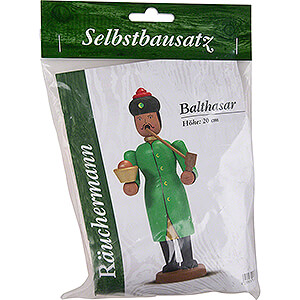Räuchermänner Sonstige Figuren Bastelset Räuchermännchen Balthasar - 20 cm