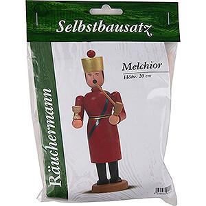 Räuchermänner Sonstige Figuren Bastelset Räuchermännchen Melchior - 20 cm