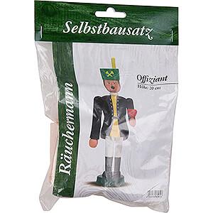 Räuchermänner Berufe Bastelset Räuchermännchen Offiziant - 20 cm