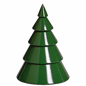 Schwibbögen Schwibbogen-Zubehör Baum grün - 8 cm