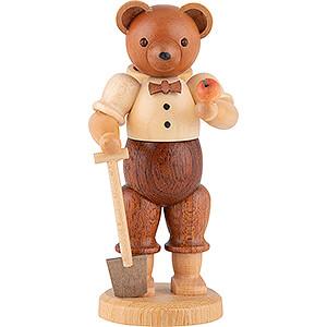 Small Figures & Ornaments Animals Bears Bear Gardener (male) - 10 cm / 4 inch