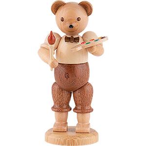 Small Figures & Ornaments Animals Bears Bear Painter - 10 cm / 4 inch