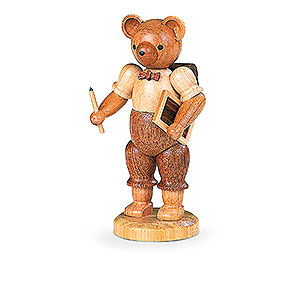 Small Figures & Ornaments Animals Bears Bear School Boy - 10 cm / 4 inch