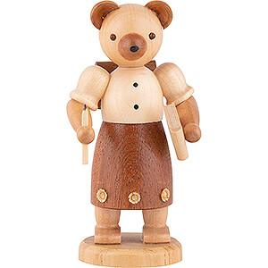 Small Figures & Ornaments Animals Bears Bear School Girl - 10 cm / 4 inch