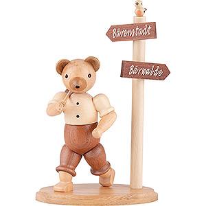Small Figures & Ornaments Animals Bears Bear Wanderer - 13 cm / 5 inch