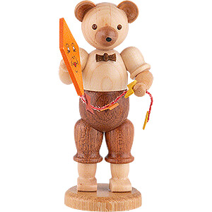 Small Figures & Ornaments Animals Bears Bear with Kite - 10 cm / 4 inch