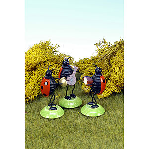 Small Figures & Ornaments Animals Beetles Beetle Orchestra 3 pcs - 6,0 cm / 2 inch