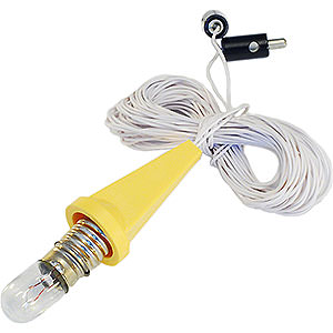 Adventssterne und Weihnachtssterne Ersatzteile Beleuchtung für 29-00-A1E und 29-00-A1B - Kappe gelb