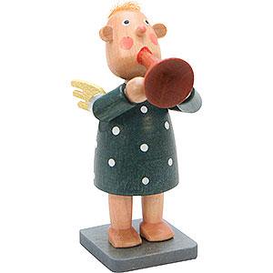 Small Figures & Ornaments Bengelchen (Ulbricht) Brass Musicians Bengelchen Music Funnel - 6,5 cm / 3 inch