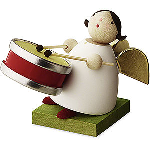 Angels Reichel Big Band Big Band Guardian Angel with Small Drum - 3,5 cm / 1.3 inch