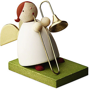 Angels Reichel Big Band Big Band Guardian Angel with Trombone - 3,5 cm / 1.3 inch