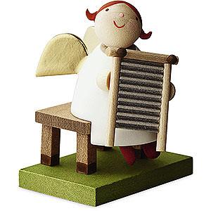 Angels Reichel Big Band Big Band Guardian Angel with Washboard - 3,5 cm / 1.3 inch