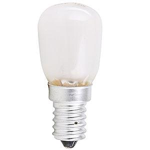Lichterwelt Ersatzlampen Birnenlampe gefrosted - Sockel E14 - 230V/15W