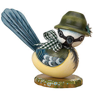 Small Figures & Ornaments Hubrig Autumn Kids Blue Titmouse Boy - 16 cm / 6 inch
