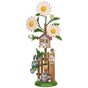 Kleine Figuren & Miniaturen Hubrig Blumenkinder Blumeninsel Edelweißmargerite - 24 cm