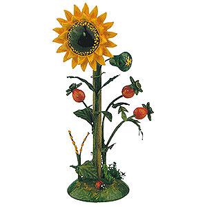 Kleine Figuren & Miniaturen Hubrig Blumenkinder Blumeninsel Sonnenblume - 14 cm