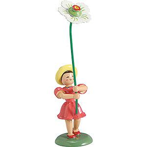 Kleine Figuren & Miniaturen Blumenkinder Blumenkind Christrose, farbig - 12 cm