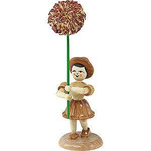 Kleine Figuren & Miniaturen Blumenkinder Blumenkind Chrysantheme, natur - 12 cm