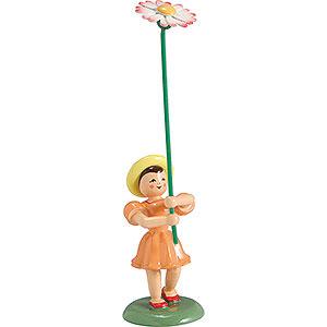 Kleine Figuren & Miniaturen Blumenkinder Blumenkind Gänseblümchen , farbig - 12 cm