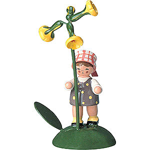 Kleine Figuren & Miniaturen Blumenkinder Blumenkind Mädchen - 6 cm