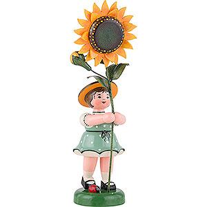 Kleine Figuren & Miniaturen Hubrig Blumenkinder Blumenkind Mädchen Sonnenblume - 24 cm