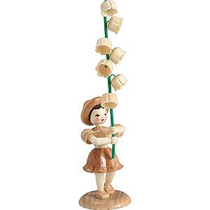 Kleine Figuren & Miniaturen Blumenkinder Blumenkind Maiglöckchen, natur - 12 cm