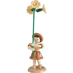 Kleine Figuren & Miniaturen Blumenkinder Blumenkind Primel, natur - 12 cm