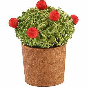 Weihnachtsengel Günter Reichel Dekoration Blumentopf mit Knospen - 3 cm