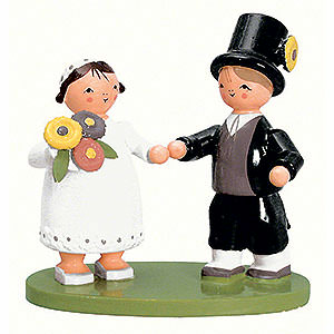 Small Figures & Ornaments everything else Bridal Couple - 7 cm / 2.8 inch