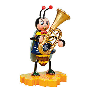 Small Figures & Ornaments Animals Beetles Bumblebee with Tuba - 8 cm / 3 inch