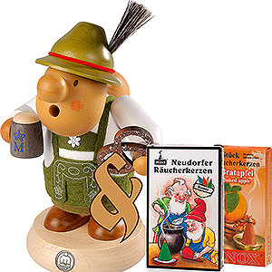 Smokers Hobbies Bundle - Smoker Bavarian with Costume plus two packs of incense