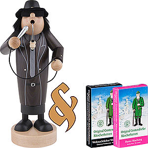 Smokers Hobbies Bundle - Smoker Rocker plus two packs of incense