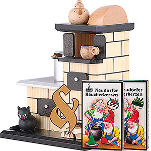 Smokers Misc. Smokers Bundle - Smoker Tiled Stove Smoking plus two packs of incense